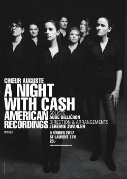 Affiche concert A Night With Cash